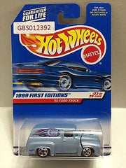 (TAS030877) - Hot Wheels 1999 First Editions '56 Ford Truck 22/26, , Cars, Hot Wheels, The Angry Spider Vintage Toys & Collectibles Store