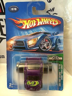(TAS004867) - Hot Wheels '04 First Editions 78/100 Fatbax Toyota Supra, , Cars, Hot Wheels, The Angry Spider Vintage Toys & Collectibles Store