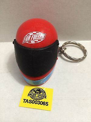 (TAS003065) - NASACR Fan Fueler Racing Driver's Helmet Key Chain, , Key Chain, NASCAR, The Angry Spider Vintage Toys & Collectibles Store