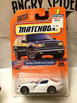 (TAS030831) - Matchbox Car - Dodge Viper GTS Coupe, , Cars, Matchbox, The Angry Spider Vintage Toys & Collectibles Store