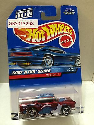(TAS030901) - Mattel Hot Wheels Car - '55 Chevy, , Cars, Hot Wheels, The Angry Spider Vintage Toys & Collectibles Store