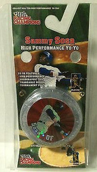 (TAS000288) - Racing Champions Sammy Sosa High Performance Yo-Yo, , Yo-Yo, MLB, The Angry Spider Vintage Toys & Collectibles Store