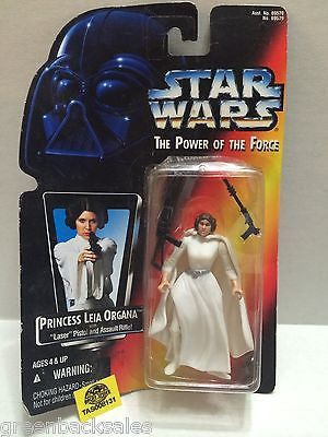 (TAS008131) - Hasbro Star Wars Power of the Force Figure - Princess Leia Organa, , Action Figure, Star Wars, The Angry Spider Vintage Toys & Collectibles Store