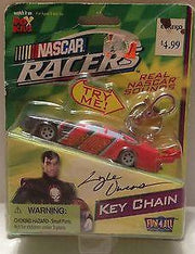 (TAS009308) - 2006 Fox Kids NASCAR Racers Key Chain - #606 Lyle Owens, , Key Chain, NASCAR, The Angry Spider Vintage Toys & Collectibles Store  - 1