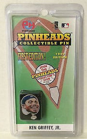 (TAS031473) - Pinheads Collectible Pin - First Edition - Ken Griffey Jr, , Pins, Wrestling, The Angry Spider Vintage Toys & Collectibles Store