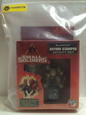 (TAS000129) - Small Soldiers - Slamfist Action Stamper Activity Set, , Stampers, n/a, The Angry Spider Vintage Toys & Collectibles Store