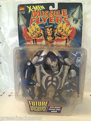 (TAS030476) - 1997 Toy Biz Marvel Comics Missile Flyers Figure - Future Apocalyp, , Action Figure, Marvel Toys, The Angry Spider Vintage Toys & Collectibles Store