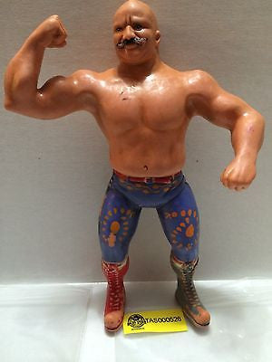 "(TAS000526) - WWE WWF WCW Wrestling LJN 8"" Action Figure - The Iron Sheik, , Sports, WWF, The Angry Spider Vintage Toys & Collectibles Store"