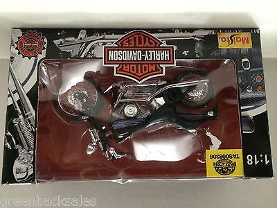 (TAS006306) - Maisto - Harley Davidson Motor Cycles, , Trucks & Cards, Maisto, The Angry Spider Vintage Toys & Collectibles Store