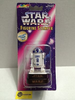 (TAS000799) - RoseArt Star Wars Figurine Stamper - R2D2, , Stampers, Star Wars, The Angry Spider Vintage Toys & Collectibles Store