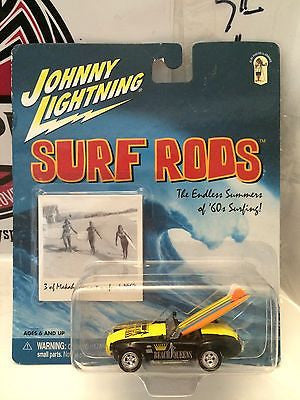 (TAS004301) - Johnny Lightning Surf Rods - Beach Queens, , Cars, Johnny Lightning, The Angry Spider Vintage Toys & Collectibles Store