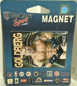 (TAS000049) - WWE WWF WCW Wrestling WinCraft Sports Magnet - Goldberg, , Magnet, Wrestling, The Angry Spider Vintage Toys & Collectibles Store