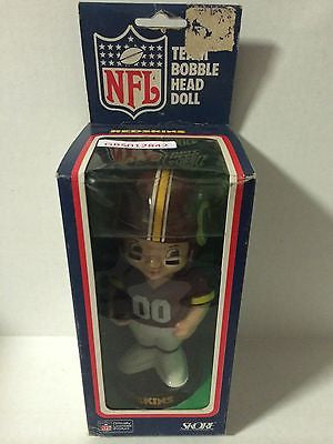 (TAS030701) - NFL Team Bobble Head Doll - Redskins, , Bobblehead, NFL, The Angry Spider Vintage Toys & Collectibles Store