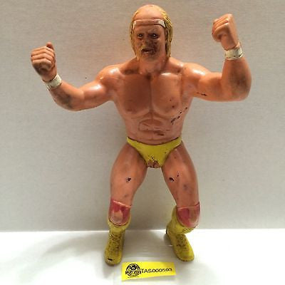 "(TAS000593) - WWE WWF WCW Wrestling LJN 8"" Action Figure - Hulk Hogan, , Sports, WWF, The Angry Spider Vintage Toys & Collectibles Store"