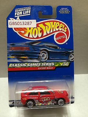 (TAS030899) - Hot Wheels Classic Games Series Escort Rally 4/4, , Cars, Hot Wheels, The Angry Spider Vintage Toys & Collectibles Store