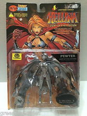 (TAS006945) - Lightning Comics Hellina Light up Eyes Edition Figure - Pewter, , Action Figure, n/a, The Angry Spider Vintage Toys & Collectibles Store