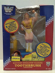 (TAS031378) - WWE WWF WCW Wrestling Toothbrush Stand and Holder - Hulk Hogan, , Bath, WWF, The Angry Spider Vintage Toys & Collectibles Store
