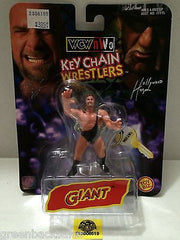 (TAS006519) - WWE WWF WCW NWO Wrestling Keychain Wrestlers - Giant, , Key Chain, Wrestling, The Angry Spider Vintage Toys & Collectibles Store