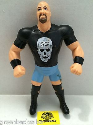 (TAS005093) - WWE WWF WCW Wrestling Bend-Ems Figure - Stone Cold Steve Austin, , Sports, Varies, The Angry Spider Vintage Toys & Collectibles Store
