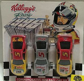 (TAS008815) - Kellogg's Racing 3 Pack of Mini Race Car Set - Terry Labonte #5, , Cars, n/a, The Angry Spider Vintage Toys & Collectibles Store