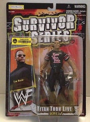 (TAS012579) - WWF WWE Vintage Wrestling Figure Jakks Titan Tron 1 - The Rock, , Action Figure, Wrestling, The Angry Spider Vintage Toys & Collectibles Store  - 2
