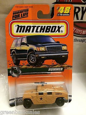 (TAS031538) - Matchbox Toy Car - Hummer, , Cars, Matchbox, The Angry Spider Vintage Toys & Collectibles Store