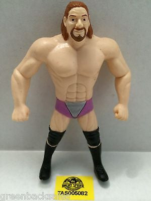 (TAS005082) - WWE WWF WCW nWo Wrestling Bend-Ems Action Figure - Val Venis, , Sports, Varies, The Angry Spider Vintage Toys & Collectibles Store