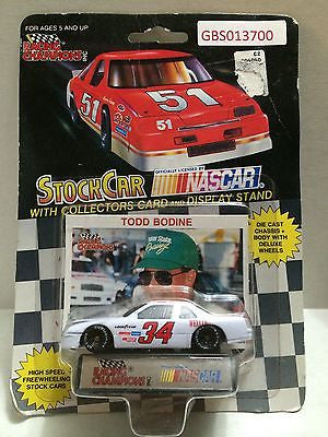 (TAS030637) - Racing Champions StockCar Nascar - Todd Bodine #34, , Trucks & Cars, Racing Champions, The Angry Spider Vintage Toys & Collectibles Store