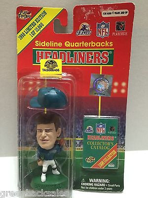(TAS008405) - MLB NBA NFL NHL Headliners Sports Figure - Brunell, , Action Figure, NFL, The Angry Spider Vintage Toys & Collectibles Store