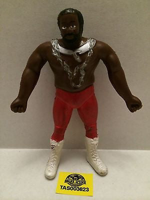 "(TAS003623) - WWE WWF WCW Wrestling Bendies Figure - ""JYD"" Junk Yard Dog, , Sports, Varies, The Angry Spider Vintage Toys & Collectibles Store"