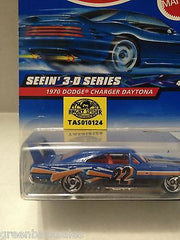(TAS010124) - 2000 Mattel Hot Wheels Die Cast Replica-1970 Dodge Charger Daytona, , Trucks & Cars, Hot Wheels, The Angry Spider Vintage Toys & Collectibles Store  - 3