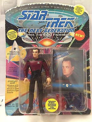 "(TAS001035) - Playmates Star Trek The Next Generation - ""Q"", , Action Figure, Star Trek, The Angry Spider Vintage Toys & Collectibles Store"
