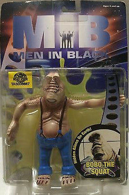 (TAS006667) - Men In Black Collectible Figure - BOBO The Squat, , Action Figure, n/a, The Angry Spider Vintage Toys & Collectibles Store
