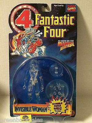 (TAS004460) - 1995 Marvel Comics Fantastic Four Figure - Invisible Woman, , Action Figure, Marvel Toys, The Angry Spider Vintage Toys & Collectibles Store