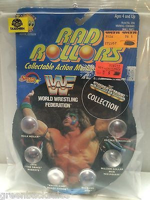 (TAS004684) - Spectra Star Rad Rollers WWF Super Stars - Hogan Snake Warrior, , Marbles, Spectra Star, The Angry Spider Vintage Toys & Collectibles Store