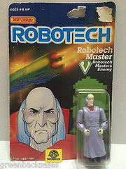 (TAS006723) - Matchbox Robotech Enemy Action Figure - RoboTech Master, , Action Figure, Matchbox, The Angry Spider Vintage Toys & Collectibles Store