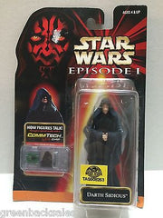(TAS008253) - Hasbro Star Wars Episode 1 CommTech Chip Figure - Darth Sidious, , Action Figure, Star Wars, The Angry Spider Vintage Toys & Collectibles Store