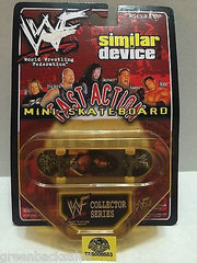 (TAS008553) - WWF WWE Similar Device Fast Action Mini Skateboard - X-Pac, , Action Figure, Wrestling, The Angry Spider Vintage Toys & Collectibles Store