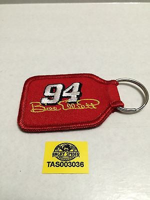 (TAS003036) - NASCAR Key Chain - Bill Elliott #94, , Key Chain, NASCAR, The Angry Spider Vintage Toys & Collectibles Store