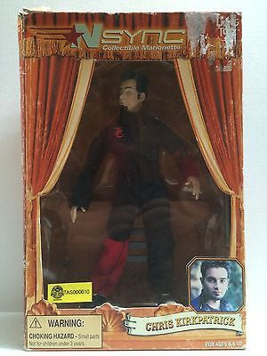 (TAS000610) - N'Sync Collectible Marionette - Living Toyz - Chris Kirkpatrick, , Action Figure, n/a, The Angry Spider Vintage Toys & Collectibles Store