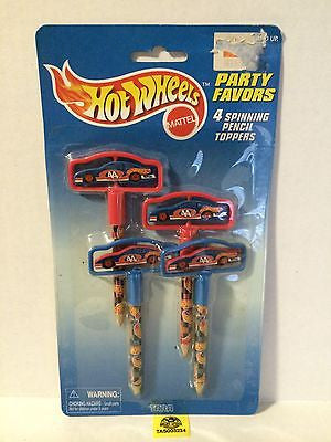 (TAS003234) - Hot Wheels Party Favors Spinning Pencil Toppers - Kyle Petty #44, , Sports, Varies, The Angry Spider Vintage Toys & Collectibles Store