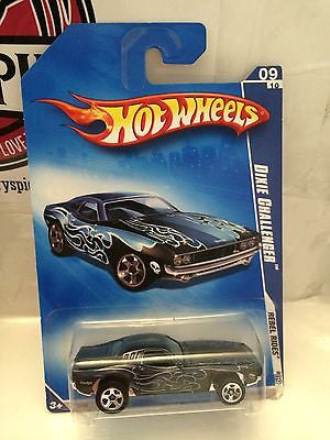 (TAS004735) - Hot Wheels Rebel Rides '09 - Dixie Challenger 09/10, , Cars, Hot Wheels, The Angry Spider Vintage Toys & Collectibles Store