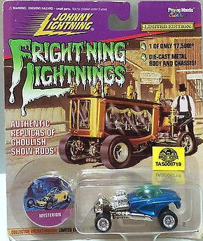 (TAS008719) - Johnny Lightning Fright'ning Lightnings - Mysterion, , Trucks & Cars, Johnny Lightning, The Angry Spider Vintage Toys & Collectibles Store
