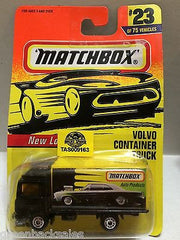 (TAS009163) - Matchbox Cars - Volvo Container Truck #23, , Cars, Matchbox, The Angry Spider Vintage Toys & Collectibles Store