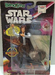 (TAS001080) - Star Wars Bend-Ems JusToys - Han Solo, , Action Figure, Star Wars, The Angry Spider Vintage Toys & Collectibles Store