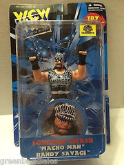 "(TAS006878) - WWE WWF WCW nWo Wrestling - Forearm Smash ""Macho Man"" Randy Savage, , Action Figure, Wrestling, The Angry Spider Vintage Toys & Collectibles Store"
