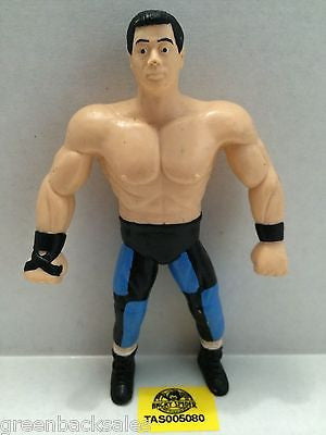 (TAS005080) - WWE WWF WCW nWo Wrestling Bend-Ems Action Figure - Taka, , Sports, Varies, The Angry Spider Vintage Toys & Collectibles Store