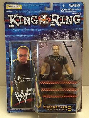 (TAS012659) - WWF WWE Wrestling Figure Jakks King of the Ring 8 - Big Boss Man, , Action Figure, Wrestling, The Angry Spider Vintage Toys & Collectibles Store  - 1