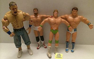 (TAS008906) - WWE WWF WCW Jakks & Twistables Figure Lot - Cena, Arn, Lex, Zenk, , Action Figure, Varies, The Angry Spider Vintage Toys & Collectibles Store
