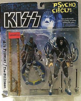 (TAS031385) - McFarlane Toy Kiss Psycho Circus Figure - Ace Frehley/The Stiltman, , Action Figure, McFarlane Toys, The Angry Spider Vintage Toys & Collectibles Store